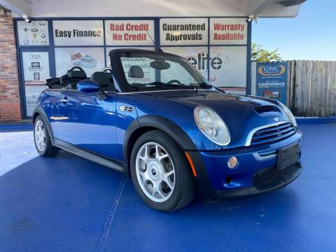 2008 MINI Cooper for sale at ELITE AUTO WORLD in Fort Lauderdale FL