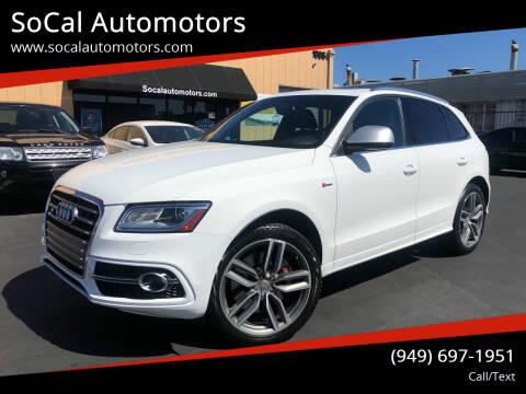 2014 Audi SQ5 for sale at SoCal Automotors in Costa Mesa CA