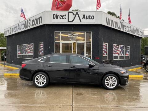 2018 Chevrolet Malibu for sale at Direct Auto in D'Iberville MS