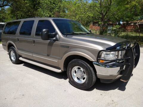 2002 Ford Excursion for sale at Thornhill Motor Company in Lake Worth TX