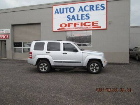 2008 Jeep Liberty for sale at Auto Acres in Billings MT
