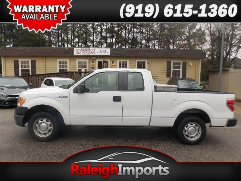 2014 Ford F-150 for sale at Raleigh Imports in Raleigh NC