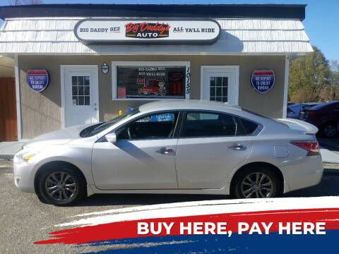 2015 Nissan Altima for sale at BIG DADDY'S  A.L.D. in Winston Salem NC
