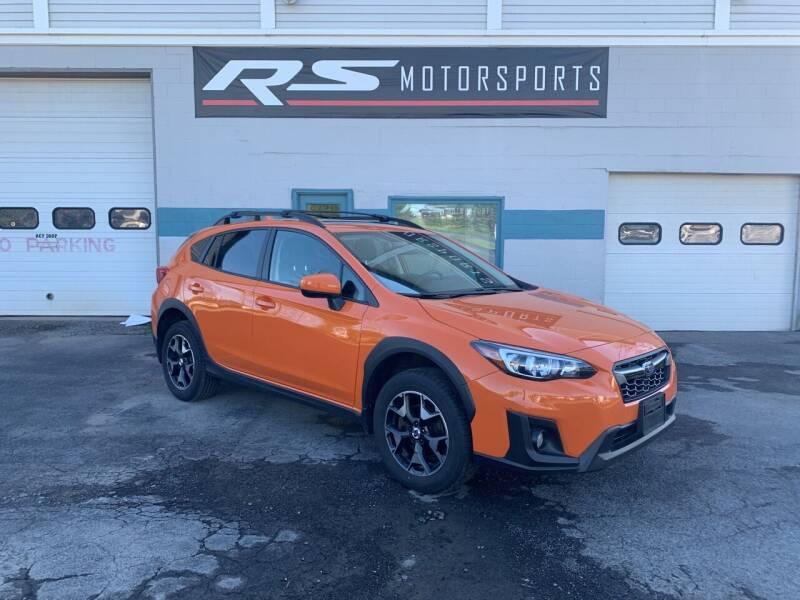 2018 Subaru Crosstrek for sale at RS Motorsports, Inc. in Canandaigua NY