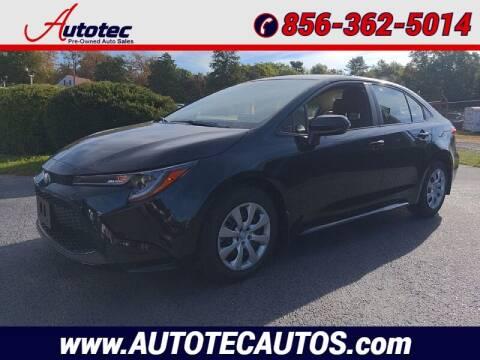 2022 Toyota Corolla for sale at Autotec Auto Sales in Vineland NJ