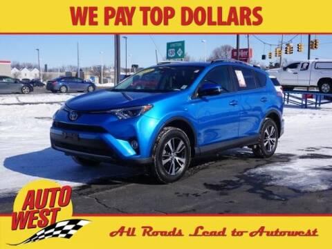 2018 Toyota RAV4 for sale at Autowest Allegan in Allegan MI
