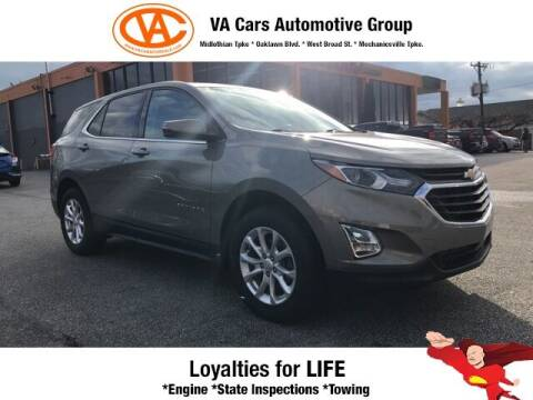 2018 Chevrolet Equinox for sale at VA Cars Inc in Richmond VA