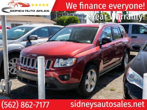 2012 Jeep Compass for sale at Sidney Auto Sales in Downey CA