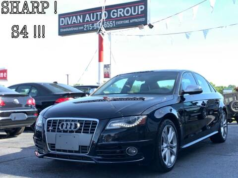 2010 Audi S4 for sale at Divan Auto Group in Feasterville Trevose PA