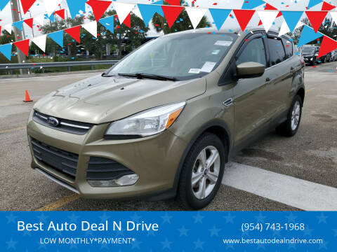 2014 Ford Escape for sale at Best Auto Deal N Drive in Hollywood FL
