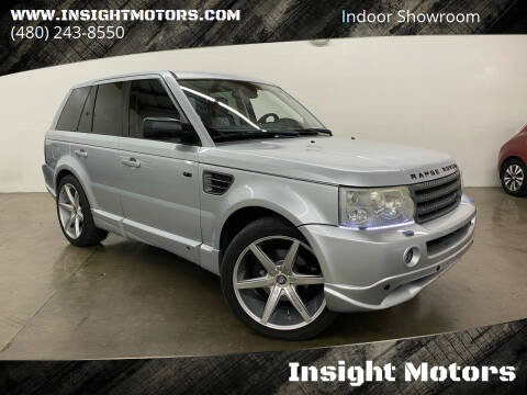 2008 Land Rover Range Rover Sport for sale at Insight Motors in Tempe AZ