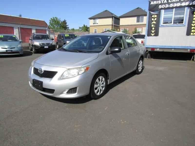 2009 Toyota Corolla for sale at ARISTA CAR COMPANY LLC in Portland OR
