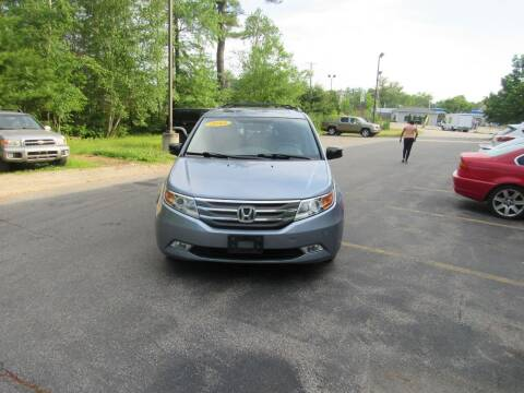 2013 Honda Odyssey for sale at Heritage Truck and Auto Inc. in Londonderry NH