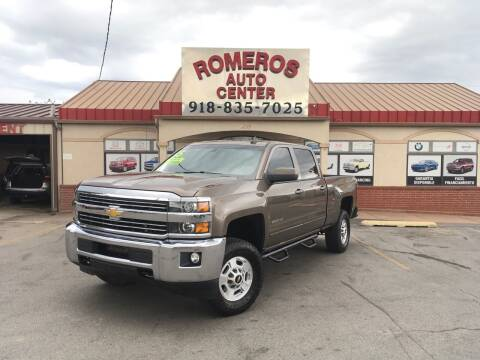 2015 Chevrolet Silverado 2500HD for sale at Romeros Auto Center in Tulsa OK