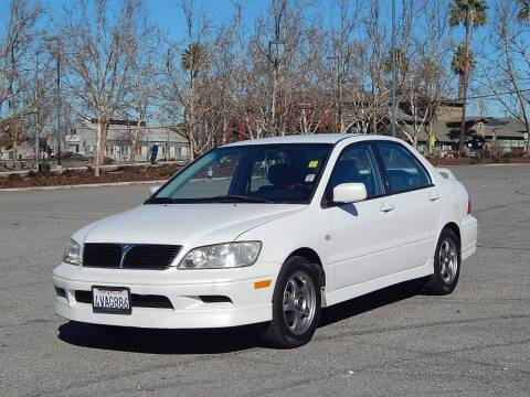 2002 Mitsubishi Lancer for sale at Crow`s Auto Sales in San Jose CA