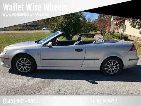 2004 Saab 9-3 for sale at Wallet Wise Wheels in Montgomery NY