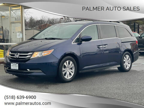 2015 Honda Odyssey for sale at Palmer Auto Sales in Menands NY