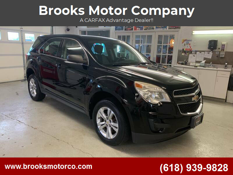 2011 Chevrolet Equinox for sale at Brooks Motor Company in Columbia IL