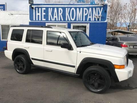 2009 Jeep Commander for sale at The Kar Kompany Inc. in Denver CO