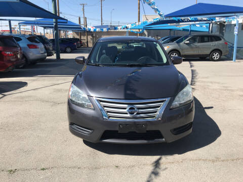 2013 Nissan Sentra for sale at Autos Montes in Socorro TX