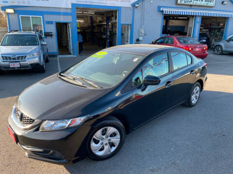 2015 Honda Civic for sale at Bridge Road Auto in Salisbury MA