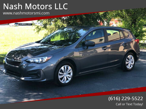 2018 Subaru Impreza for sale at Nash Motors LLC in Hudsonville MI