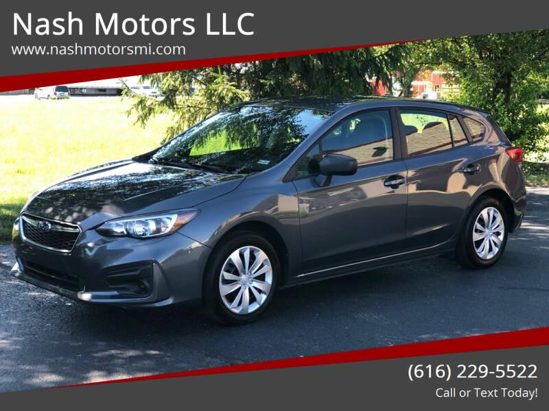 2018 Subaru Impreza for sale at Nash Motors LLC in Hudsonville MI