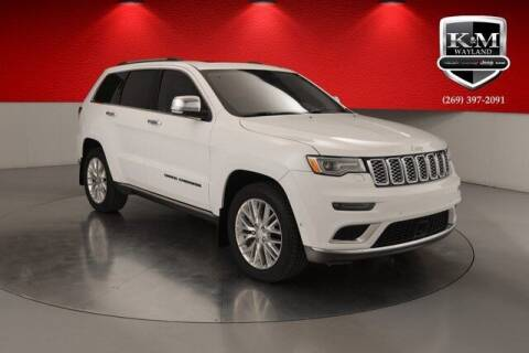2018 Jeep Grand Cherokee for sale at K&M Wayland Chrysler  Dodge Jeep Ram in Wayland MI