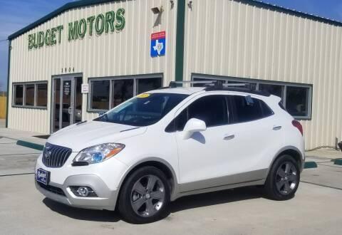 2013 Buick Encore for sale at Budget Motors in Aransas Pass TX