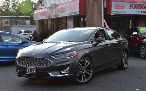 2020 Ford Fusion for sale at Foreign Auto Imports in Irvington NJ