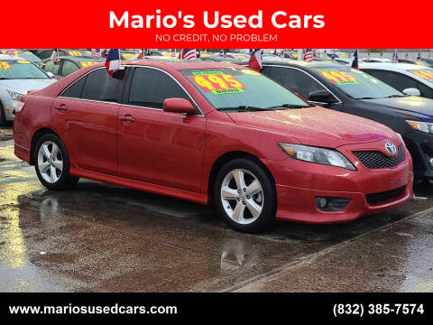 2011 Toyota Camry for sale at Mario's Used Cars in Houston TX