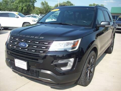 2017 Ford Explorer for sale at Nemaha Valley Motors in Seneca KS