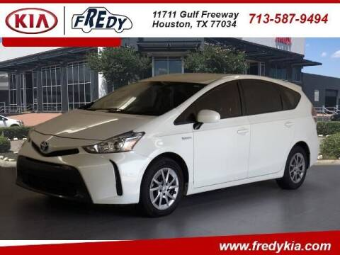 2017 Toyota Prius v for sale at FREDY KIA USED CARS in Houston TX