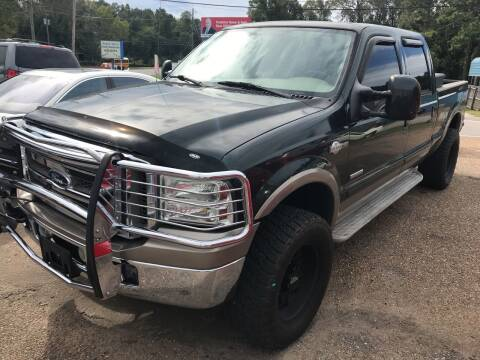 2005 Ford F-250 Super Duty for sale at Bay City Auto's in Mobile AL