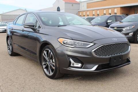 2019 Ford Fusion for sale at SHAFER AUTO GROUP in Columbus OH