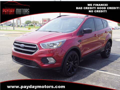 2018 Ford Escape for sale at Payday Motors in Wichita KS