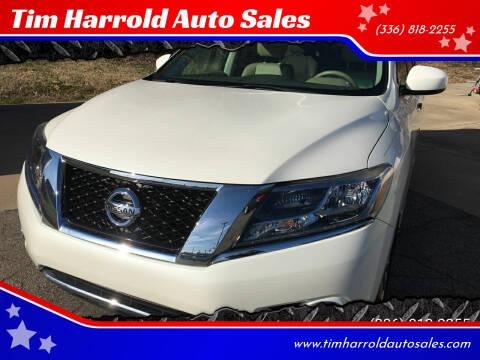 2015 Nissan Pathfinder for sale at Tim Harrold Auto Sales in Wilkesboro NC