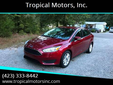 2017 Ford Focus for sale at Tropical Motors, Inc. in Riceville TN