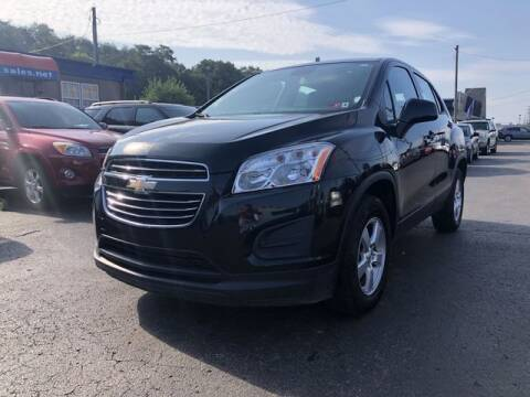2016 Chevrolet Trax for sale at Instant Auto Sales in Chillicothe OH