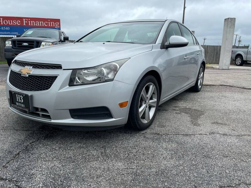 2014 Chevrolet Cruze for sale at H3 MOTORS in Dickinson TX