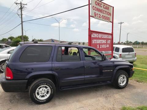 1999 Dodge Durango for sale at OKC CAR CONNECTION in Oklahoma City OK