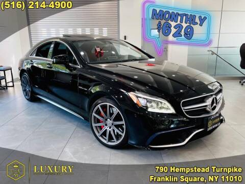 2015 Mercedes-Benz CLS for sale at LUXURY MOTOR CLUB in Franklin Square NY