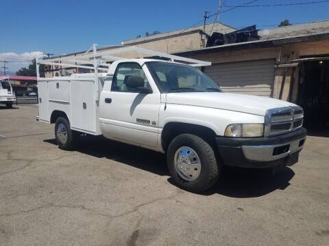 2001 Dodge Ram Pickup 2500 for sale at Vehicle Center in Rosemead CA