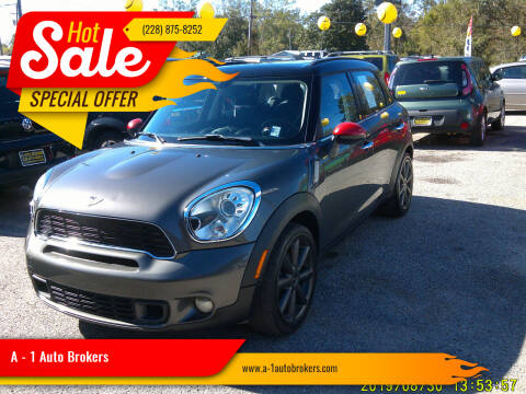 2011 MINI Cooper Countryman for sale at A - 1 Auto Brokers in Ocean Springs MS