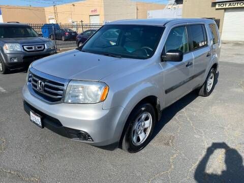 2013 Honda Pilot for sale at 101 Auto Sales in Sacramento CA