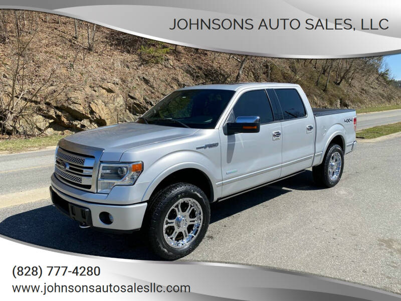 2013 Ford F-150 for sale at Johnsons Auto Sales, LLC in Marshall NC