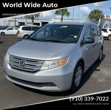 2013 Honda Odyssey for sale at World Wide Auto in Fayetteville NC