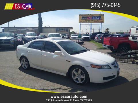 2005 Acura TL for sale at Escar Auto in El Paso TX