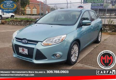 2012 Ford Focus for sale at MIDWEST MOTORSPORTS in Rock Island IL