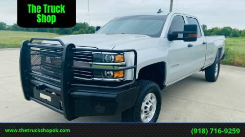 2016 Chevrolet Silverado 2500HD for sale at The Truck Shop in Okemah OK